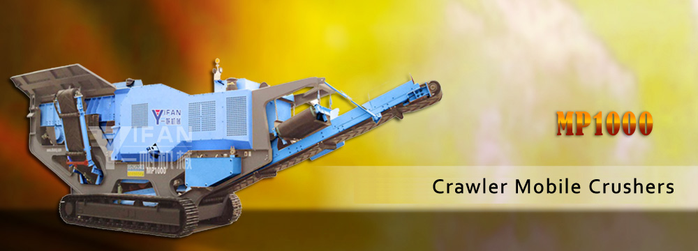crawler mobile crushers