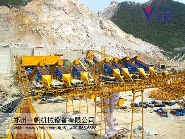 sand production line in Guizhou