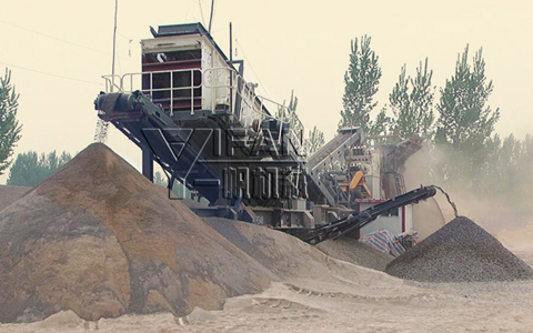 YIFAN Mobile Crusher Helps with