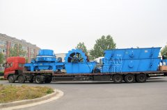YIFAN VSI Crusher and Sand Washer are on the Way to Yunnan